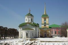 Sheremetev家庭的Kuskovo庄园在莫斯科,俄罗斯 图库摄影