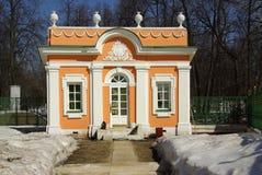 Sheremetev家庭的Kuskovo庄园在莫斯科,俄罗斯 库存图片