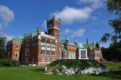 Sheremetev Castle. Russia Royalty Free Stock Photography