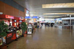 Sheremetyevo airport interior Stock Photo