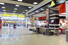Sheremetyevo airport interior Stock Images