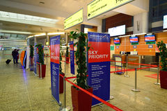 Sheremetyevo International Airport Royalty Free Stock Image