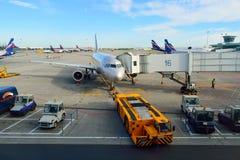 Sheremetyevo-internationaler Flughafen Lizenzfreies Stockfoto