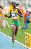 Shericka Jackson de Jamaica Fotos de archivo libres de regalías