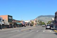 Sheridan aleja w Coda, Wyoming Zdjęcie Stock