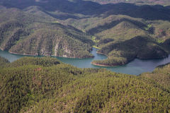 Sheridan Lake, aerial view Stock Image