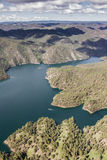 Sheridan Lake, aerial view Stock Photos