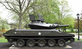 Sheridan Tank royaltyfria bilder