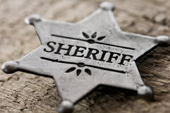Sheriff Royalty Free Stock Photo
