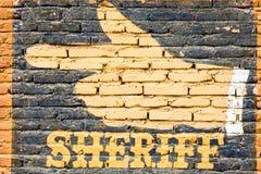 Sheriff Royalty Free Stock Photography