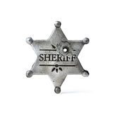 sheriff royaltyfria foton