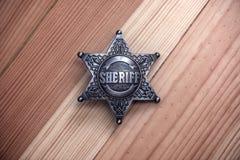 sheriff royaltyfri bild