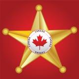 Sheriff Badge Royalty Free Stock Photos