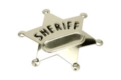 Sheriff Badge Stock Images