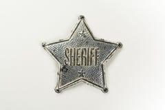 Sheriff Badge Stock Photos