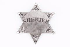 Sheriff Badge Royalty Free Stock Photography