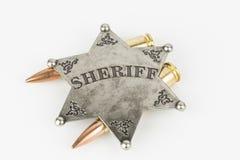 Sheriff Badge Royalty Free Stock Photo