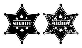 Sheriff Badges Royalty Free Stock Image