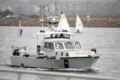 Sheriff Boat de Los Ángeles Imagen de archivo libre de regalías