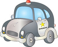 Sheriff Car Royalty Free Stock Photos
