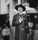 Sheriff, de Dagen van Wilde Westennen, Temecula, Californië royalty-vrije stock foto