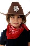 Sheriff del Cowgirl Imagen de archivo