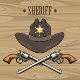 Sheriff Emblem Stock Image