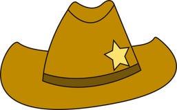 Sheriff Hat Fotografering för Bildbyråer