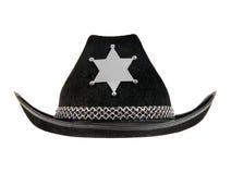Sheriff Hat Imagen de archivo libre de regalías