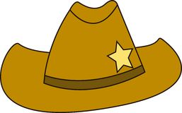 Sheriff Hat Stock Image