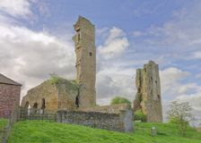 Sheriff Hutton Castle, north yorkshire, england Royalty Free Stock Photos