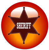 Sheriff icon Royalty Free Stock Image