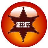 Sheriff icon Royalty Free Stock Image