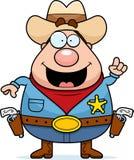 Sheriff Idea vector illustratie