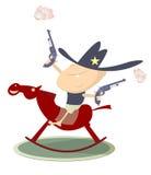 Sheriff joven Imagen de archivo libre de regalías