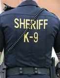 Sheriff K-9 Unit Stock Photography