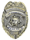 Sheriff law enforcement police badge Stock Images
