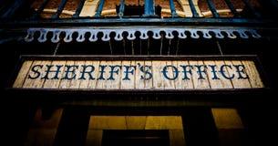 Sheriff Office Arkivfoton