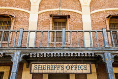 Sheriff Office Royalty Free Stock Photo