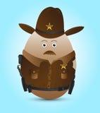 Sheriff Ostern Stockfotografie