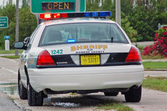 Sheriff's Car Stock Photography
