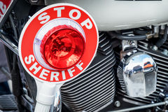 Sheriff signalling disk Stock Images