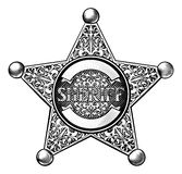 Sheriff Star Badge Royalty Free Stock Photo