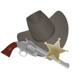 Sheriff Royalty Free Stock Image