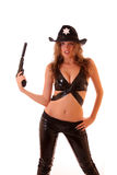 Sheriff woman Stock Image