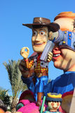 Sheriff Woody - Carnival of Nice 2016 Royalty Free Stock Photography