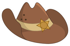 Sheriffs hat Stock Photo