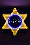 sherifftecken Arkivfoton