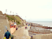 Sheringham, Norfolk. Royalty Free Stock Images