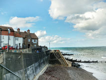 Sheringham Sea Front  Norfolk Royalty Free Stock Image